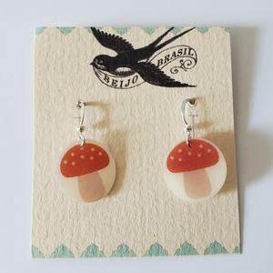 Beijo Brasil Mushroom Earring (Small)